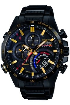 5ae1df0e3e9 Casio Edifice Mens Edifice Watch EQB-500RBK-1AER Relógio Diesel