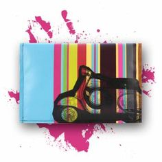 """Macbook Air 13"""" sleeve *Pauls Roller by KLEBER.   STRIPES .COLOR .STRIPES. We love Italy"""