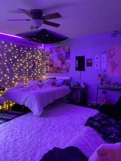 Indie Room Decor, Cute Bedroom Decor, Bedroom Decor For Teen Girls, Room Design Bedroom, Girl Bedroom Designs, Room Ideas Bedroom, Bedroom Inspo, Bed Room, Chill Room