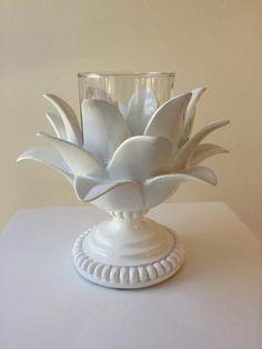 Resultado de imagen para flower pottery ceramics diy