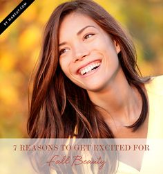 7 Reasons to Get Excited for Fall Beauty // can't wait!!