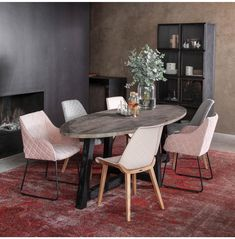 Buy Riviera Maison Canyamel Oval Dining Table online with Houseology's Price Promise. Full Riviera Maison collection with UK & International shipping. Gold Furniture, Unique Furniture, Dining Chairs, Dining Table, Buffet Cabinet, Urban Loft, New Living Room, Furniture Collection, Pink Room