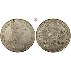 Römisch Deutsches Reich, Maria Theresia, Taler 1765, vz/vz-st: Maria Theresia 1740-1780. Taler 1765 Günzburg. Büste r.,… #coins #numismatics