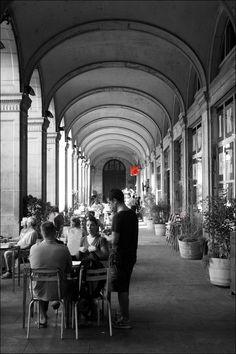 Royal square-Plaça Reial , Barcelona,  Catalonia