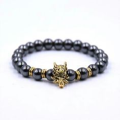 HYHONEY Bead Bracelets for women Black Beaded Dragon head Accessories Charm bracelet pulseira masculina Strand Bracelet, Bangle Bracelets, Bangles, Dragon Head, Head Accessories, Fashion Models, Charmed, Beads, Metal