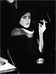 Susan Sontag at a symposium on sex in 1962 at the Mills Hotel. Photograph: Fred W. Mcdarrah