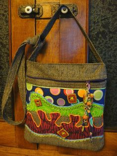 Holy Guacamole Tote by Shoestring   Quilting Ideas