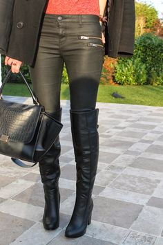 Black Over-The-Knee Boots | Fuel to Life