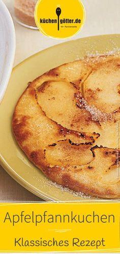 Wir verraten dir ein klassisches Rezept für leckere Apfelpfannkuchen.