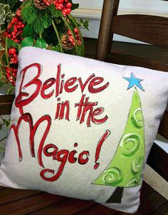 Whimsical Hand-painted Believe in the Magic by SippingIcedTea