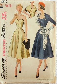 Simplicity 3512: WOW. Especially with the polka dots. I mean, WOW.