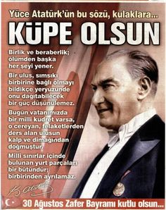 Atam Great Leaders, Good Life Quotes, World Peace, Meaningful Quotes, The Turk, Karma, My Hero, The Creator, Nostalgia