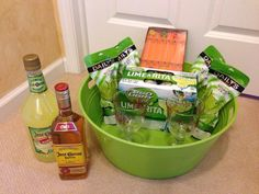 Silent Auction basket... Margarita Madness!