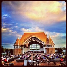 Lake Harriet in Minneapolis - you can walk around the lake or catch a free concert at the band shell.
