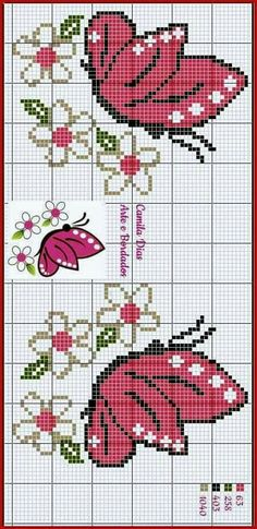 Butterfly Cross Stitch, Cross Stitch Tree, Cross Stitch Heart, Cross Stitch Flowers, Cross Stitching, Cross Stitch Embroidery, Embroidery Patterns, Hand Embroidery, Cross Stitch Designs