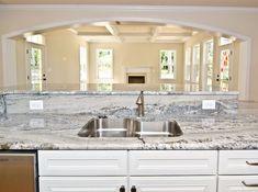 white cabinets monte cristo granite