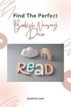 Add some bookish flair to your baby's nursery with these great finds.
