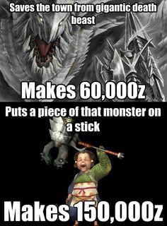 monster hunter memes