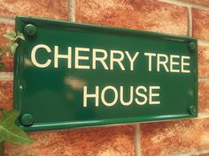 Small Multi Line Classic Rectangle House Name Sign - 298mm x 140mm; 11.75 inches x 5.5 inches