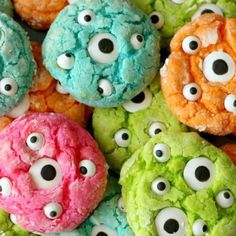 Pulling inspo for our annual Halloween bake-off! How cute are these googly treats.. #NEED (at PRAVANA Anti-Corporate Headquarters)