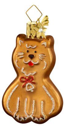 Baumschmuck Lebkuchen-Katze