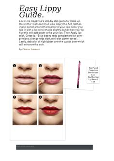 Easy Lippy Guide.