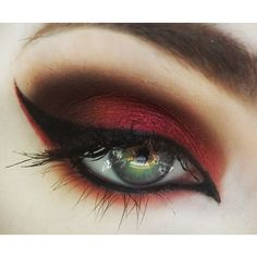 Dramatic eye makeup found on Polyvore featuring beauty products, makeup, eye makeup, eyes and beauty