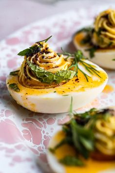 Egg Recipes, Appetizer Recipes, Appetizers, Catering Recipes, Turkish Eggs, Egg Ingredients, Deviled Eggs, Quick Easy Meals, Fine Dining