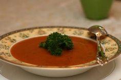 Roasted Red Pepper Soup Vegan Dad