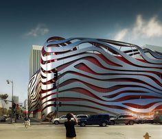 Petersen Automotive Museum Unveils Eye-Catching New Exterior by Kohn Pedersen Fox ~ DesignDaily