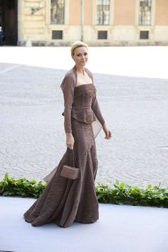 europeanmonarchies:  Wedding of Princess Madeleine and Christopher O'Neil-June 8, 2013-Princess Charlene