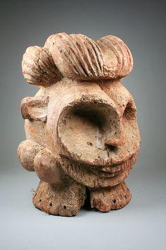 Bangwa Troh Helmet Mask, Cameroon