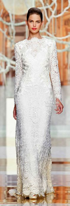 YolanCris Ethereal Evanescence Spring 2014 Bridal Collection
