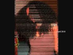 she had been growing her hair out of her relaxer for three years and been completly natural for 1 year.