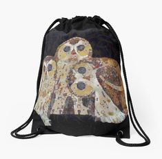 InterestPrint Crowd of Cute Doodle Owl Crossbody Bag and Saddle Shoulder Bag Vintage Satchel for Women