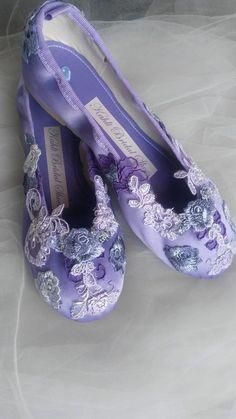 c2a9762b805 Lilac   Purple Kahli ballet bridal shoes www.kahlilifestyle.com Soft  Purple