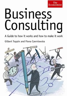 Business Consulting Magazine Cover