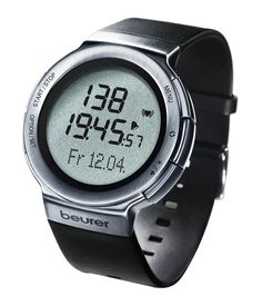 Beurer PM 80 Heart Rate Monitor Watch >>> Read more  at the image link.