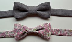 Sew your own bow ties: Instructions via The Sewing Sessions