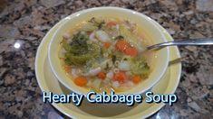 Italian Grandma Makes Hearty Cabbage Soup Dinner Soup – Dinner Recipes Italian Dishes, Italian Recipes, New Recipes, Cooking Recipes, Healthy Recipes, Chili Recipes, Potato Recipes, Vegetarian Recipes, Dinner Recipes