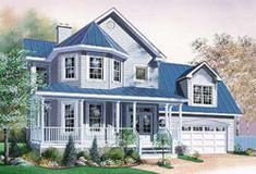 VH 70003 amerikanische Villen - amerikanische Häuser Fertighäuser ...