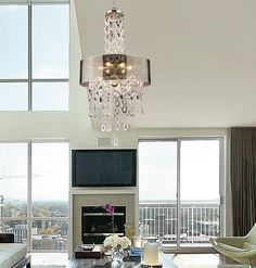 Modern Chandeliers For A Contemporary Living Space