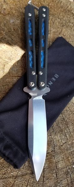 BENCHMADE 32 MINI MORPHO Bali-Song Combat Butterfly Knife Blade