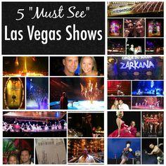Top 5 Las Vegas Shows LasVegas