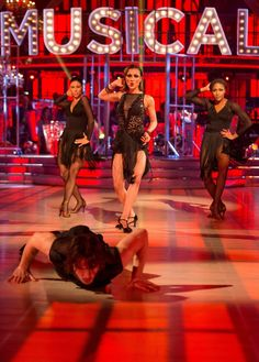 Strictly Come Dancing 2015 - The Quarter Finals - Anita and Gleb