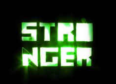 Harder Better Faster Stronger by Thiago Barcelos, via Behance
