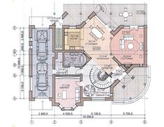 Plans Architecture, Funny Clips, Autocad, My House, House Plans, Projects To Try, Villa, Floor Plans, Layout