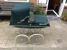 Kinderwagen antiek jaren vijftig