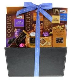 ~~ #Godiva, ~~ Thank You, ~~ #GiftBasket ~~ #easter ~~