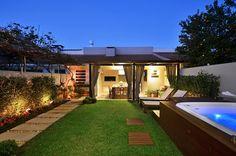 Área de Lazer na cidade: Jardim por Stefani Arquitetura